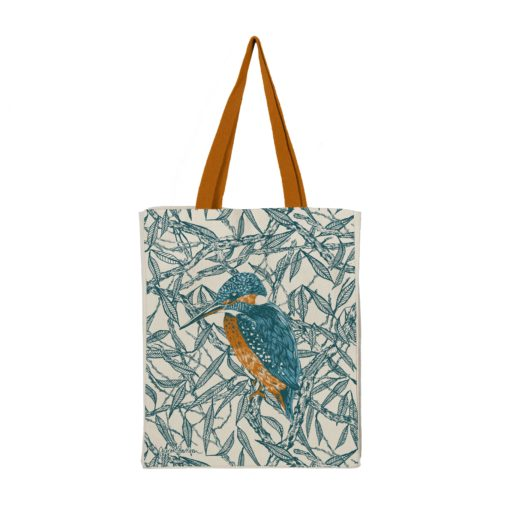 Kingfishers Tote Bag by Cherith Harrison