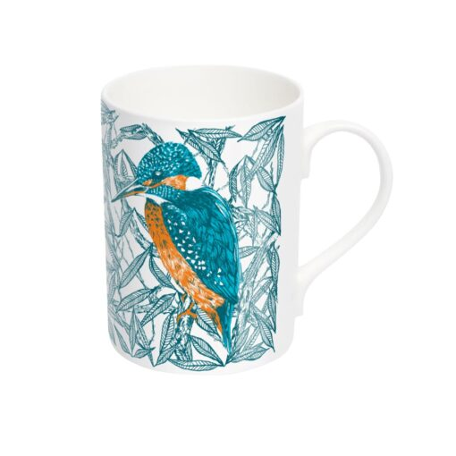 Kingfisher Mug by Cherith Harrison