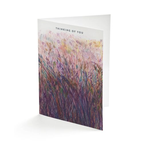 heather greetings card by Cherith Harrison