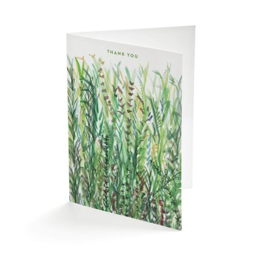 Mixed Herbs greetings card by Cherith Harrison