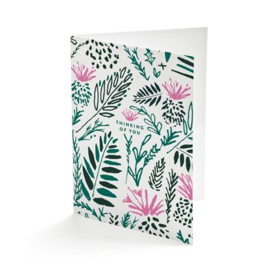 Wild Flowers greetings card by Cherith Harrison