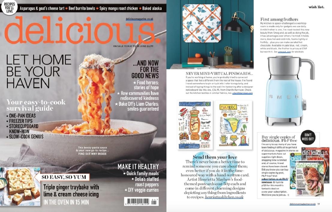 Cherith Harrison Press Coverage in Delicious magazine