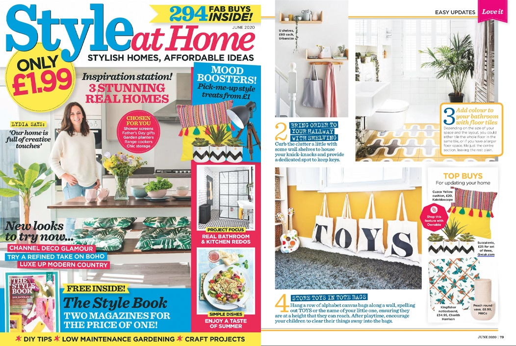 Press Coverage in Style at Home at Cherith Harrison