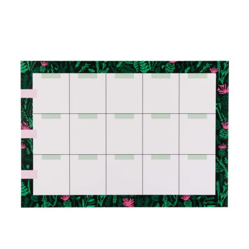 Monthly Wall Planners by Cherith Harrison