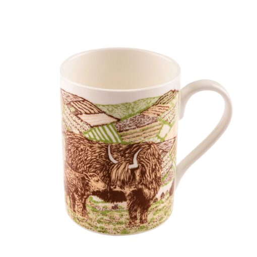 Highland Cow Love mug by Cherith Harrison