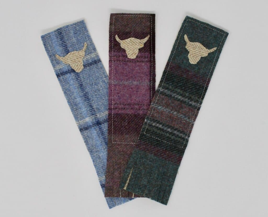 highland cow bookmark